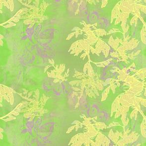 Sea-Dragons-original-art-in green