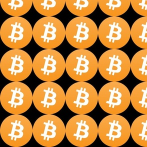 2 bitcoin coins money cryptocurrency digital currency pop art novelty