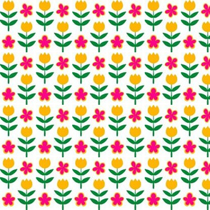 Tiny Floral Grid
