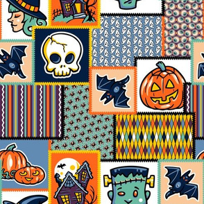 Halloween Hoopla - Patchwork - Large