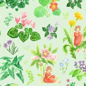 Little Ida's Flowers - Mint