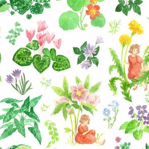 Little Ida's Flowers - White
