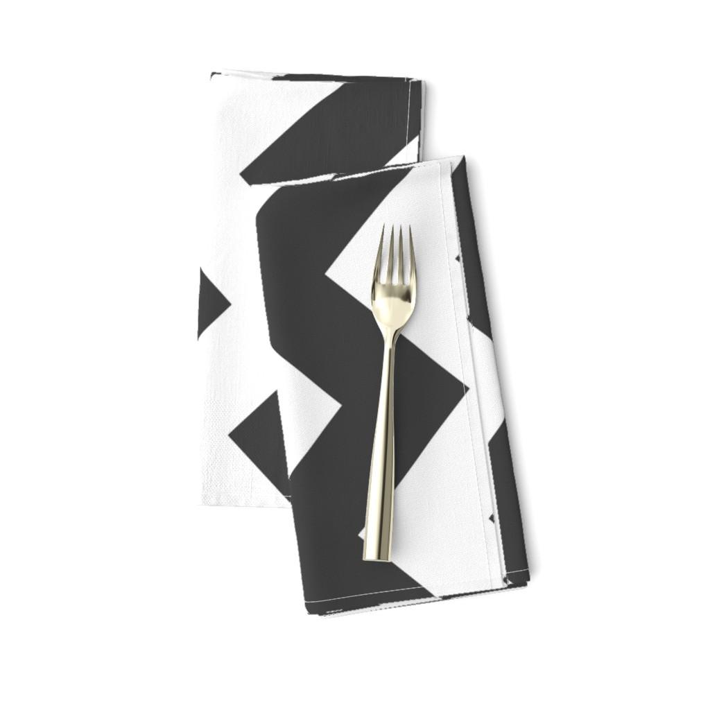 Amarela Dinner Napkins featuring UMBELAS ZIGGY 3 by umbelas