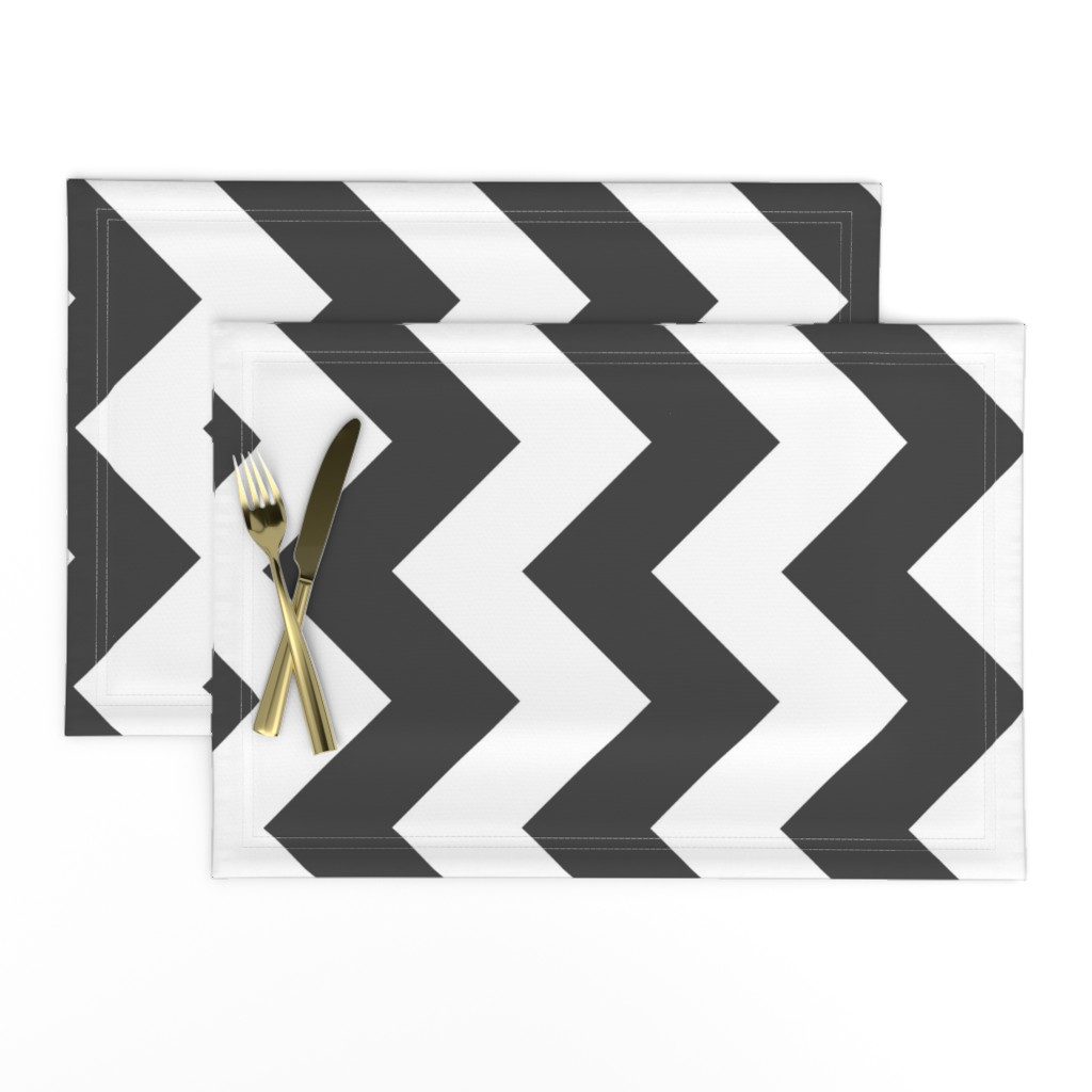 Lamona Cloth Placemats featuring UMBELAS ZIGGY 3 by umbelas