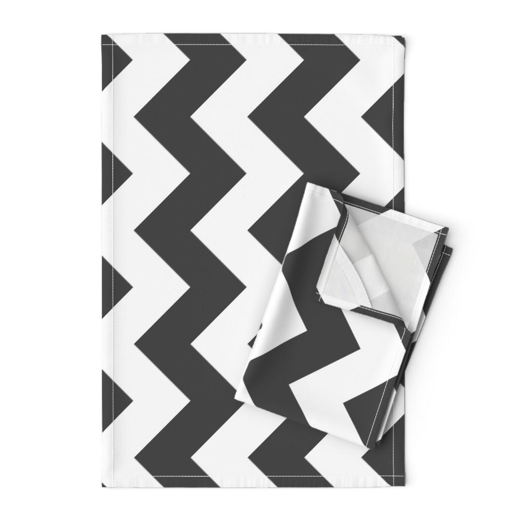 Orpington Tea Towels featuring UMBELAS ZIGGY 3 by umbelas