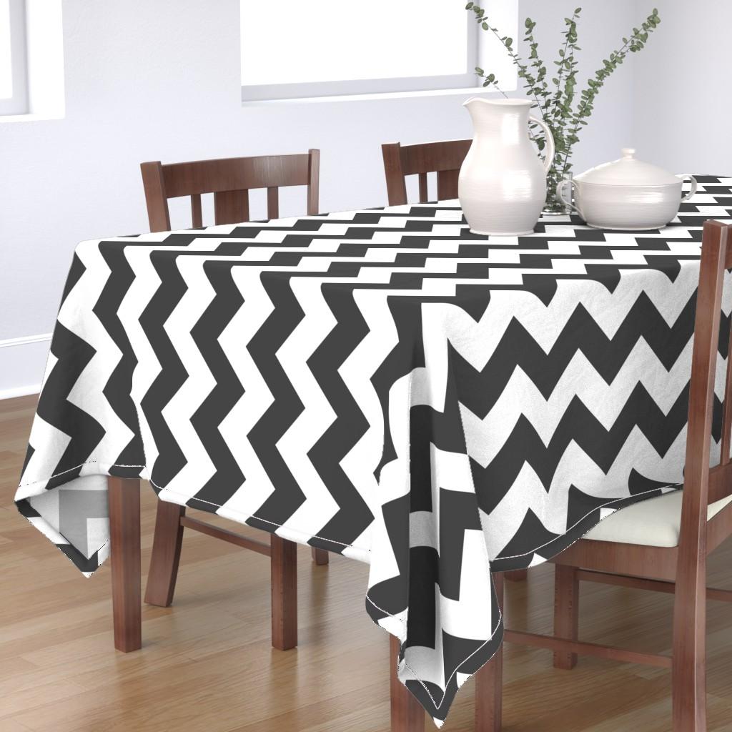 Bantam Rectangular Tablecloth featuring UMBELAS ZIGGY 3 by umbelas
