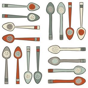 Spoons - White