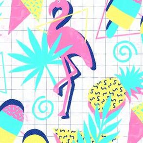 80s Flashback Tropical Fun - large