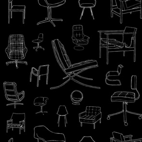 Mid-Century Chairs / Designer Furniture