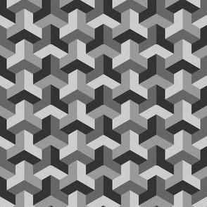 06724688 : chevron 3 x4 : grey