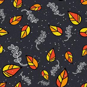 Rustic Leaves -ed