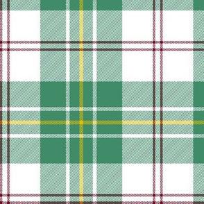 "MacPherson dress dance tartan, 6"" green"