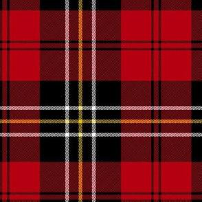 "MacPherson of Cluny red tartan, 6"""