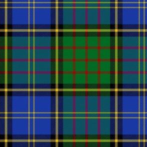 "MacMillan hunting tartan, 6"" modern colors"
