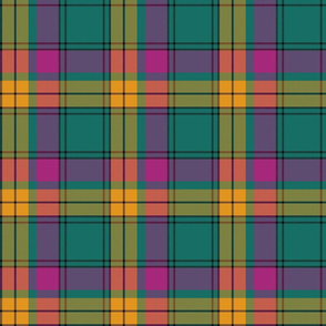"MacMillan old tartan, 6"" ancient colors"