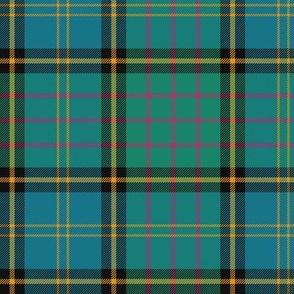 "MacMillan hunting tartan, 6"" ancient colors"
