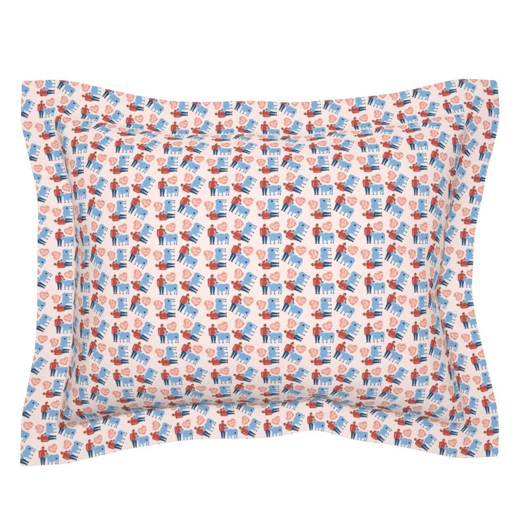 Sebright Pillow Sham featuring I Got You Babe by cindylindgren