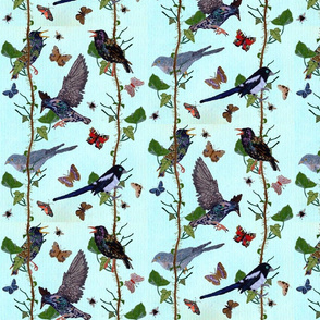 ivy_pattern_with_starling__cuckoo_magpie_offset_small
