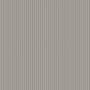 Gray Ticking Double Stripe