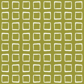 Golden Avocado Rustic Squares