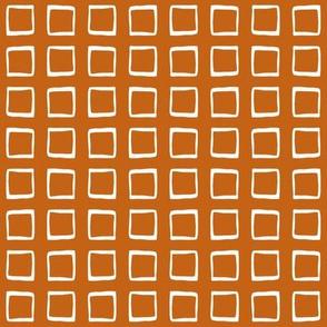 Pumpkin Rustic Squares