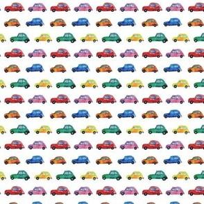 Watercolor cars mini