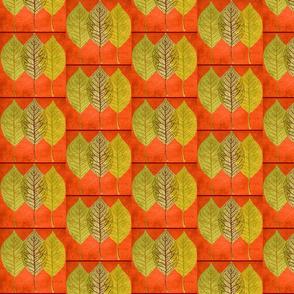 rustic fall roman shades