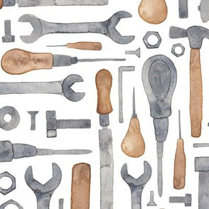 Workmans Tools in Watercolour