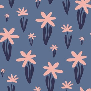 Kristin Nicole Floral Navy and Pink