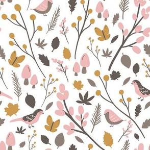 Kristin Nicole Woodland Birds