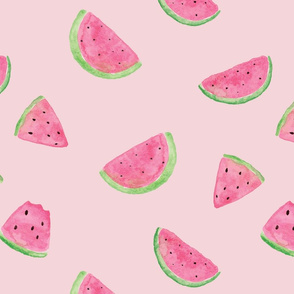 Kristin Nicole Watermelon on Pink