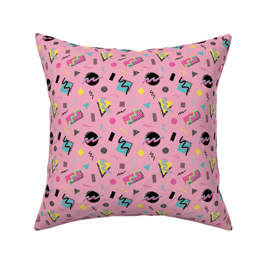Catalan Throw Pillow featuring Postmodern Slumber Party by elliottdesignfactory