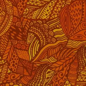 Decorative Leaves of Autumn