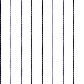 Navy Titanic Boarding Suit fabric
