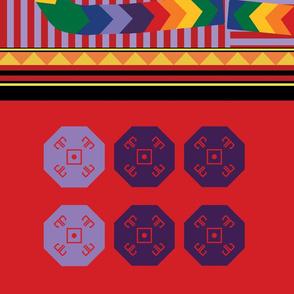 Joseph and the Amazing Technicolor Dreamcoat fabric 1