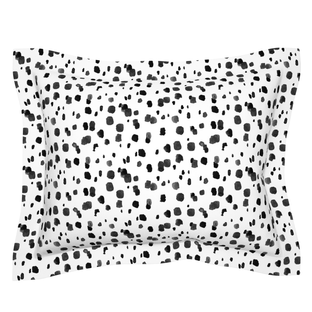 Sebright Pillow Sham featuring Inky_Bits by crystal_walen