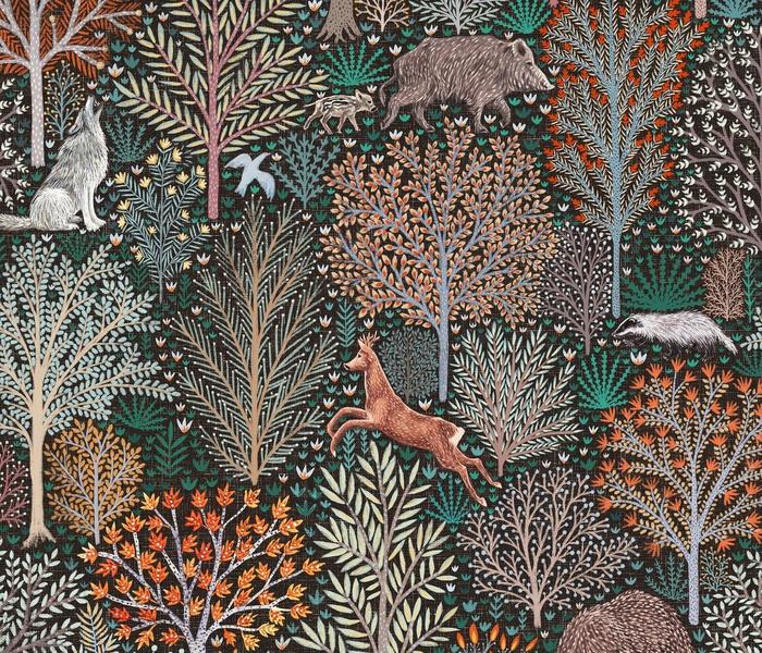 Rustic Fall - Forest animals - les animaux de la fôret
