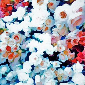 snow florals & berries