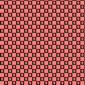 Coffee Checker Pink