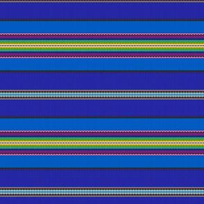 Stripes by Pühalepa, blue, Hiiumaa