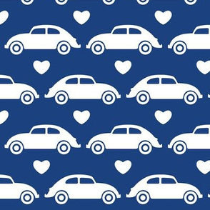 VW Beetle Love - Blue