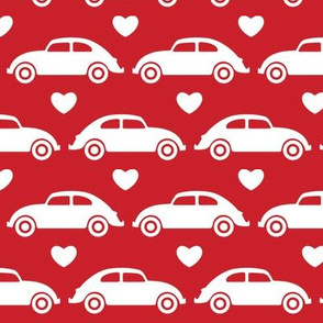 VW Beetle Love - Red - Large