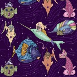 Fantasy Creatures of the Deep by Salzanos