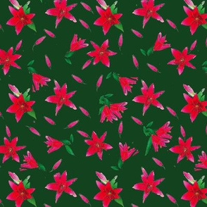 Stargazers on Green Upholstery Fabric