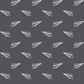 Origami Planes - Grey