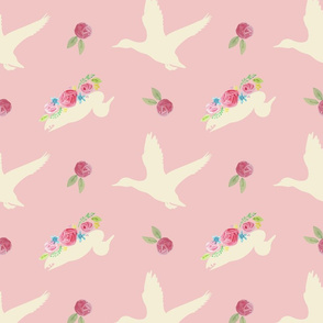Duck_and_Flowers_Repeat_Pink