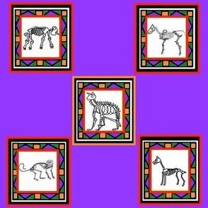 Calaveras Moradas - Purple Haze