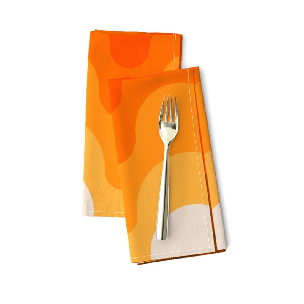 Amarela Dinner Napkins featuring Julio // Golden by circa78designs