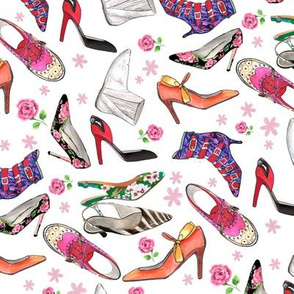 Pop Art Shoes©DanielaGlassop