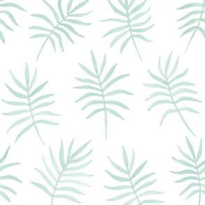 Mint Palm Leaves